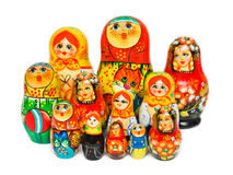 Russian toy matrioska Royalty Free Stock Photo