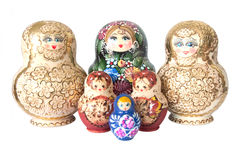 Russian toy matrioska Stock Photo