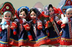 Russian toys Stock Images