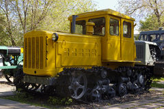 Russian tractor DT-54 Royalty Free Stock Photography