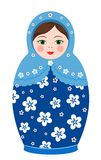 Russian tradition matryoshka dolls Stock Photography