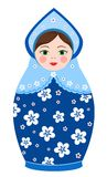 Russian tradition matryoshka dolls Stock Image