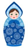 Russian tradition matryoshka dolls Royalty Free Stock Image