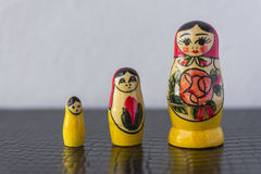 Russian Traditional Dolls Matrioshka - Matryoshka or Babushka Stock Photography