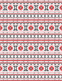 The russian traditional embroidery Royalty Free Stock Images