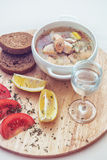 Russian traditional fish soup Royalty Free Stock Photos