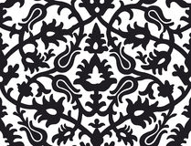 Russian traditional floral ornamental pattern Stock Photography