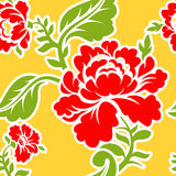 Russian traditional floral pattern. National ornament Khokhloma. Royalty Free Stock Images