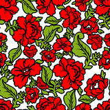 Russian traditional floral pattern. National ornament Khokhloma. Royalty Free Stock Photo