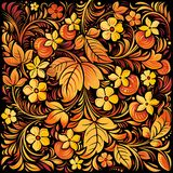 Russian traditional ornamental background Stock Image