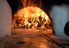 Russian traditional oven Royalty Free Stock Photos