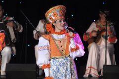 Russian traditional show Stock Images