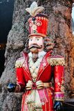 Russian traditional soldier doll statue Stock Photos