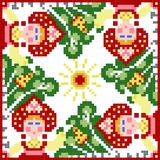 Russian traditional theme - cdr format Stock Images