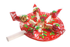 Russian traditional toy Stock Photography