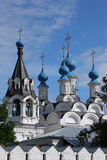Russian traditonal medieval monastery Royalty Free Stock Image