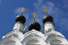 Russian traditonal medieval monastery. Medieval monastery in old russian town Murom Royalty Free Stock Image