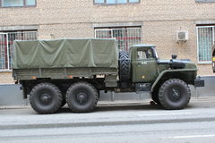 Russian truck Ural Royalty Free Stock Photography