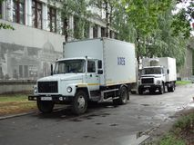 Russian trucks Royalty Free Stock Images