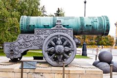 Russian Tsar cannon Stock Photo