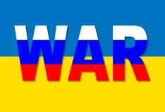 Russian Ukrainian conflict. Royalty Free Stock Photos