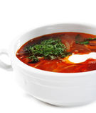 Russian and Ukrainian Cuisine - Soup Solyanka Stock Photos