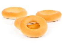 Russian or Ukrainian donut Bublik Royalty Free Stock Photography