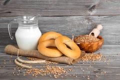 Russian or Ukrainian donut (Bublik) Royalty Free Stock Image