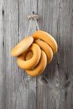 Russian or Ukrainian donut Bublik Royalty Free Stock Photos