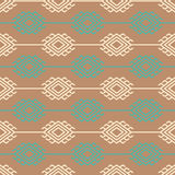 Russian, ukrainian and scandinavian knit styled pattern, pastel colors Royalty Free Stock Photography