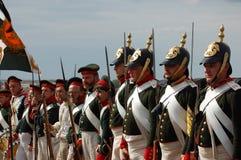 Russian uniform. Crimean War time Royalty Free Stock Photos