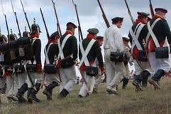 Russian uniform. Crimean War time Royalty Free Stock Photo