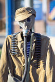 Russian uniform of defense for chemical attacks in wwii Royalty Free Stock Photo