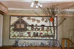 Russian Valenki felt boot Museum, Myshkin, Russia Royalty Free Stock Photo