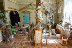 Russian Valenki felt boot Museum, Myshkin, Russia Royalty Free Stock Image
