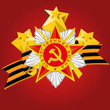 Russian Victory day on 9 may. Stock Images