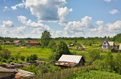 Russian Village Royalty Free Stock Image