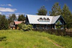 Russian Village attractions in Verkhniye Mandrogi Stock Photography