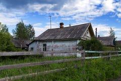 Russian Village attractions in Verkhniye Mandrogi Stock Photos
