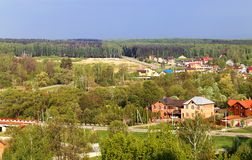Russian village Royalty Free Stock Photos