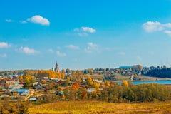 Russian village Stock Photos