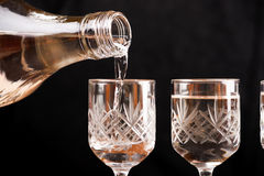 Russian vodka royalty free stock images