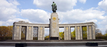 Russian War Memorial in Berlin Stock Photography