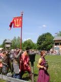 Russian warriors Royalty Free Stock Photo