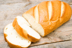 Russian white bread Stock Photography