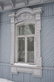 Russian Window Frames Wood Royalty Free Stock Image