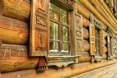 Russian windows Royalty Free Stock Images