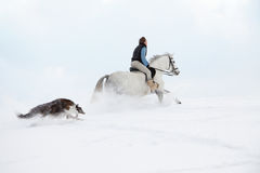 _Russian winter_ Royalty Free Stock Image