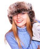 Russian winter Stock Image