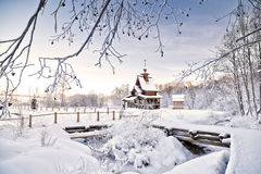 Russian Winter Royalty Free Stock Images